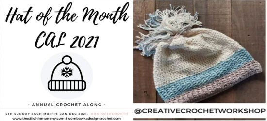 Snazzy Color Crochet Hat - Free Crochet Pattern | Creative Crochet Workshop #freecrochetpattern #crochet #crochetaccessory #crochetscarf @creativecrochetworkshop #ScarfoftheMonth @thestitchinmommy @oombawkadesigncrochet