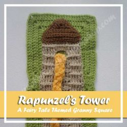 The Rapunzel Tower – Exclusively Designed for The Stitchin Mommy