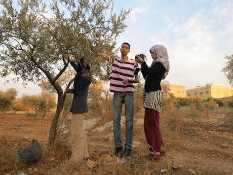 Nablus_filming
