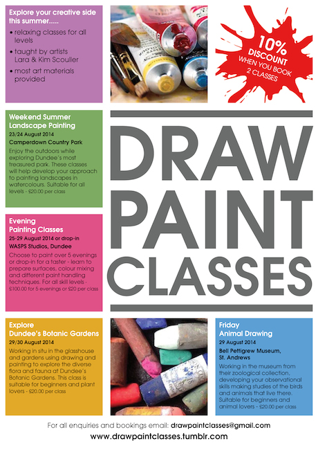 DUNDEE ART CLASSES
