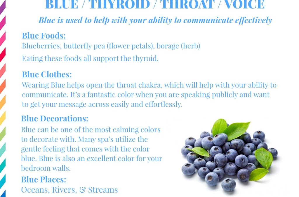 The Healing Power of Blue!