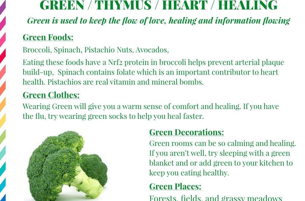 The Healing Power of Green!