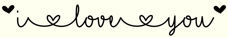 I Love Glitter (Font) by Misti · Creative Fabrica