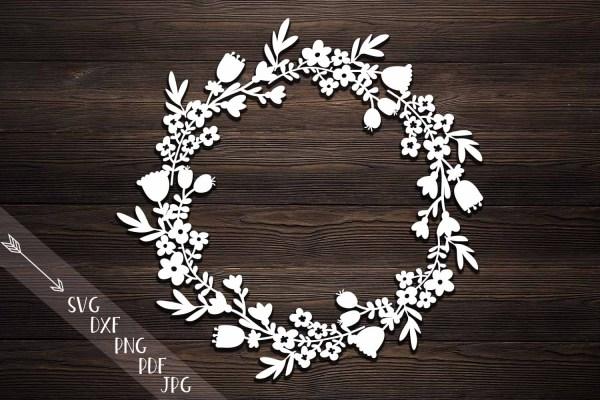 wreath template pdf # 28