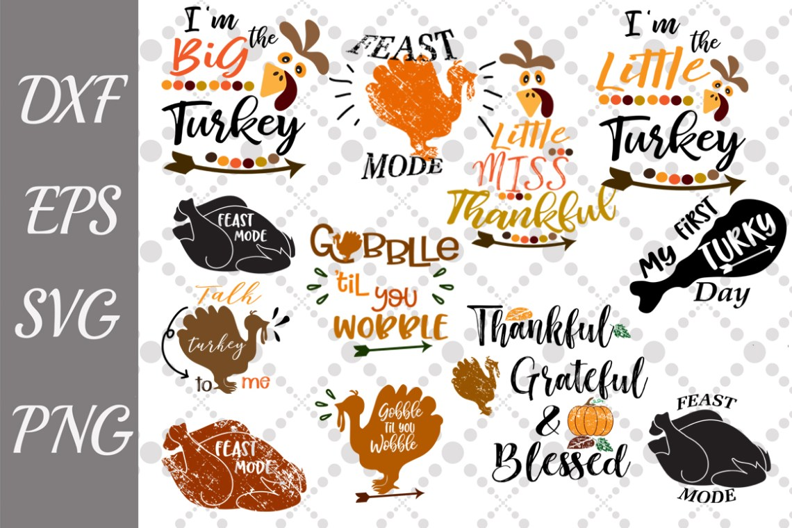 Download Thanksgiving Bundle Svg Graphic by prettydesignstudio ...