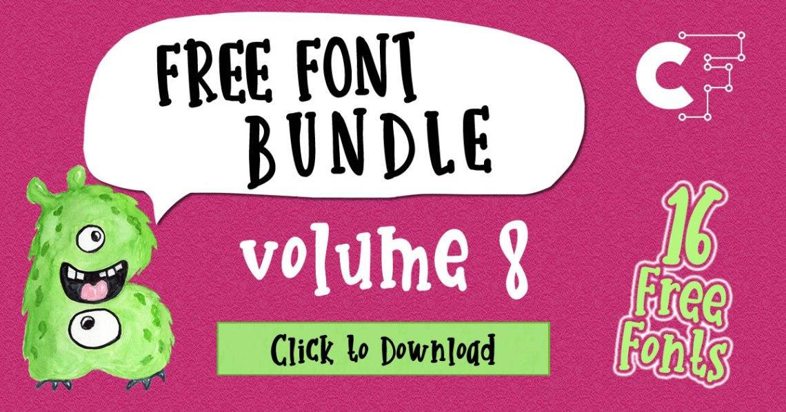 Download Free Font Bundle Vol. 8 - Creative Fabrica
