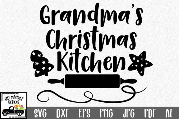 Download Grandma's Kitchen SVG (Graphic) by oldmarketdesigns ...