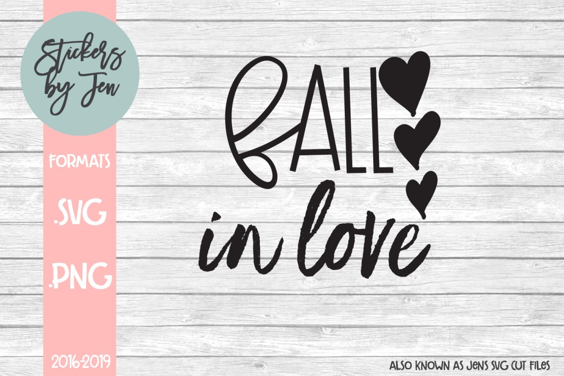 Download Fall in Love SVG Graphic by Jens Svg Cut Files - Creative ...