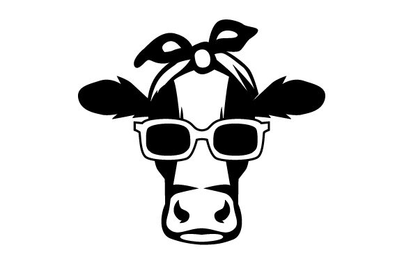 Download Get Cow Bandana Svg Free PNG Free SVG files | Silhouette ...