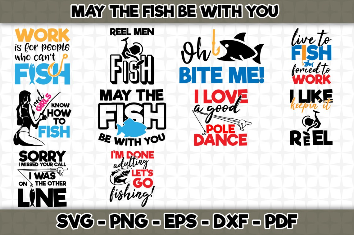 Download May the Fish Be with You Bundle (Graphic) by SVGExpress ...