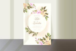 simple elegant wedding invitation card