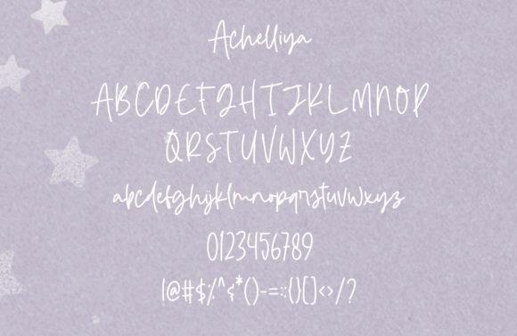 Achelliya Fonts 14906133 3