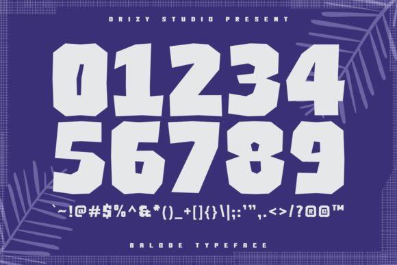 Balode Fonts 17288730 3
