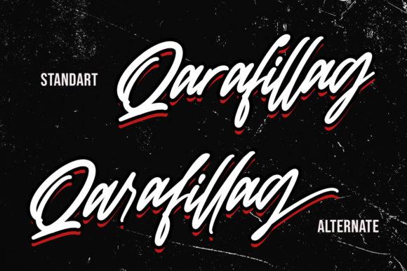 Qarafillag Script Fonts 17846411 3