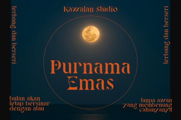Gerhana Bulan Fonts 18070451 2