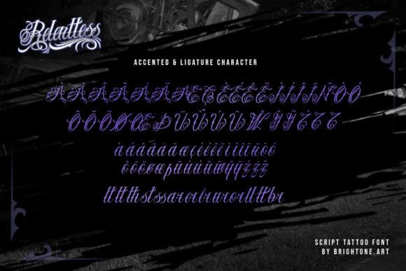 Relentless Fonts 18070606 4