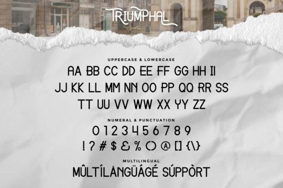 Triumphal Fonts 18096326 4