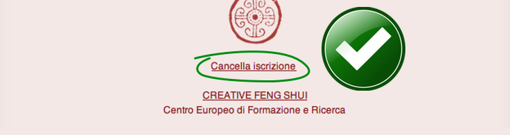 Newsletter Feng Shui