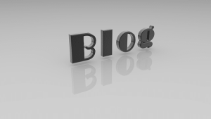 get traffic to your blog | image of the word blog on the page