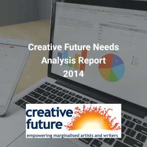 creative future needs analysis report