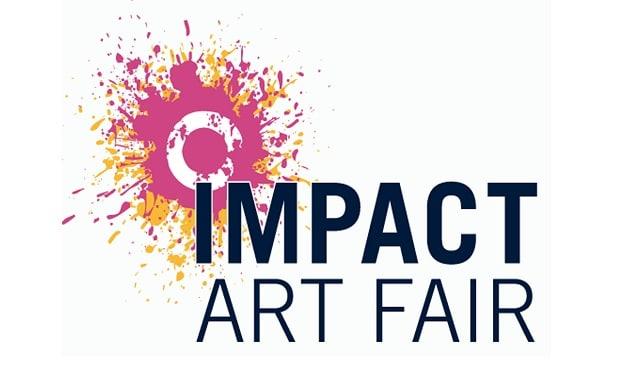 Impact Art Fair logo with borders copy