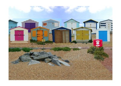 Beach Huts by Joel Apps