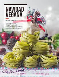 Portada del recetario Navidad Vegana