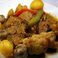 Asado de tofu y seitán