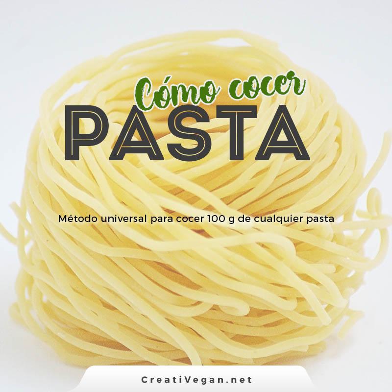 Cómo cocer pasta