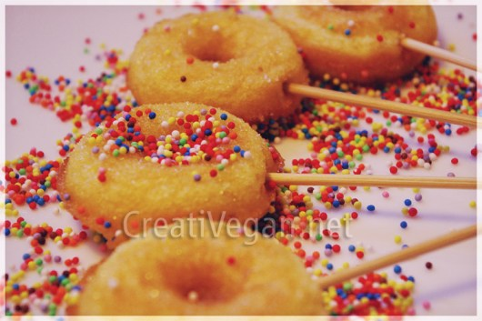 Mini berlinas veganas / Mini donuts veganos