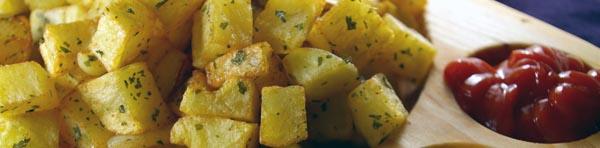 patatas al ajo y cebolla