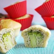 Muffins de brócoli y nuez moscada
