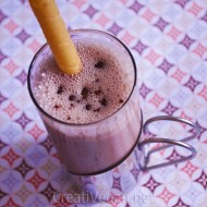 Batido de chocolate con avellanas