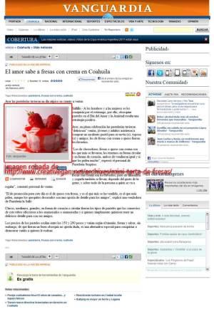 vanguardia robando fotos de Creativegan.net