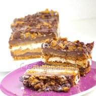Tarta de chocolate, galleta y vainilla