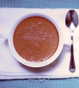 Mousse 7: mousse de natillas de chocolate