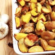 Patatas asadas al tomillo y romero