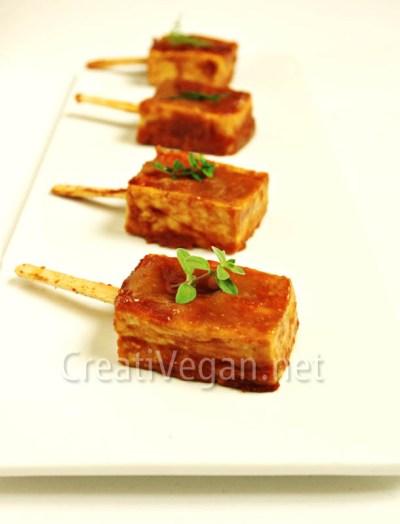 Tofu Dengaku (vegano)