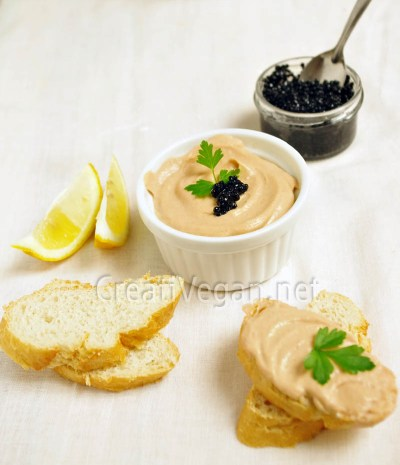 Paté de salmón vegano