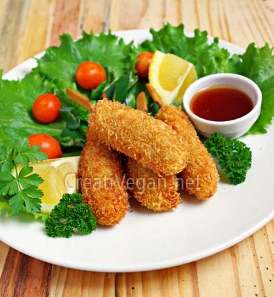 Surimi vegano (ebi fry)