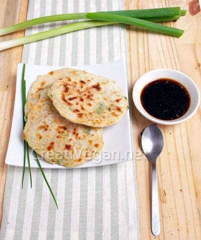 Tortitas chinas de cebolleta