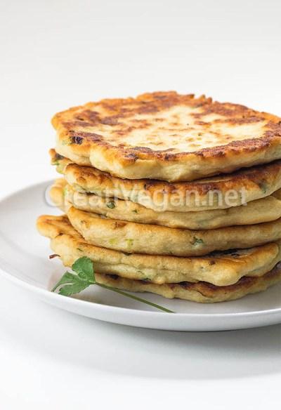 Tortitas de urad dal