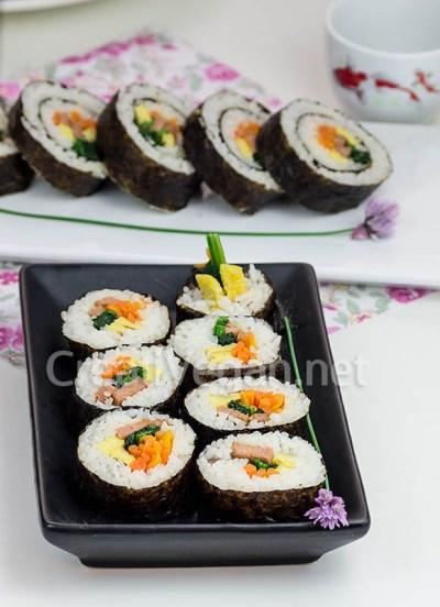Gimbap/Kimbap vegano