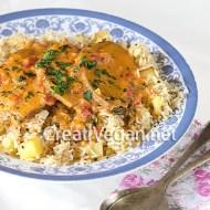 Mchuzi Wa Samaki (curry de pescado vegano swahili)