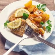 Schnitzels de tofu y avena