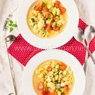 Sopa (de aprovechamiento) de verduras