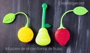 Infusores de té con forma de frutas - CreatiVegan.net