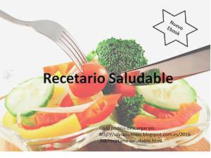 Recetario saludable - Silvia Zaragoza