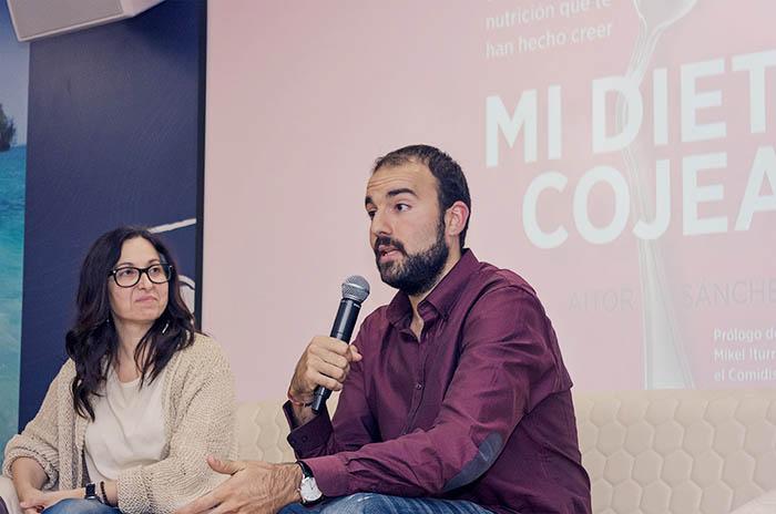 Presentación del libro Mi Dieta Cojea, por Aitor Sánchez - Madrid