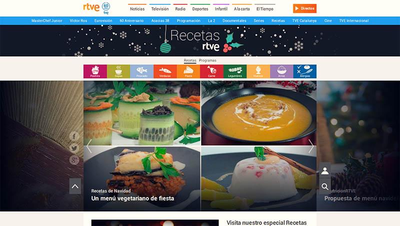 Recetas RTVE Especial Navidad: menú vegano con Creativegan y Dimequecomes